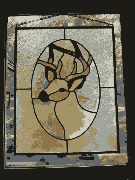 Stained glass Deer Computer Icons