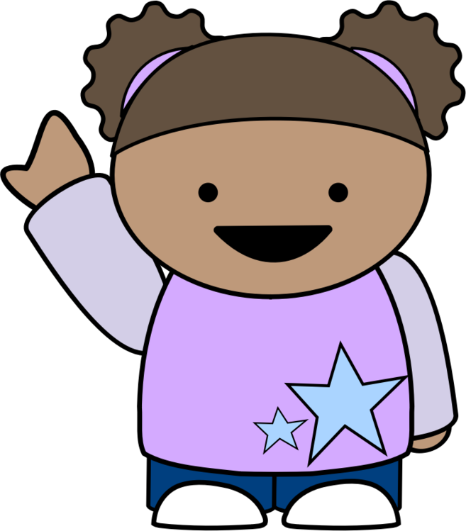Cartoon Public Domain Girl Toddler Animation Free Commercial Clipart - Toddler-cartoon-characters