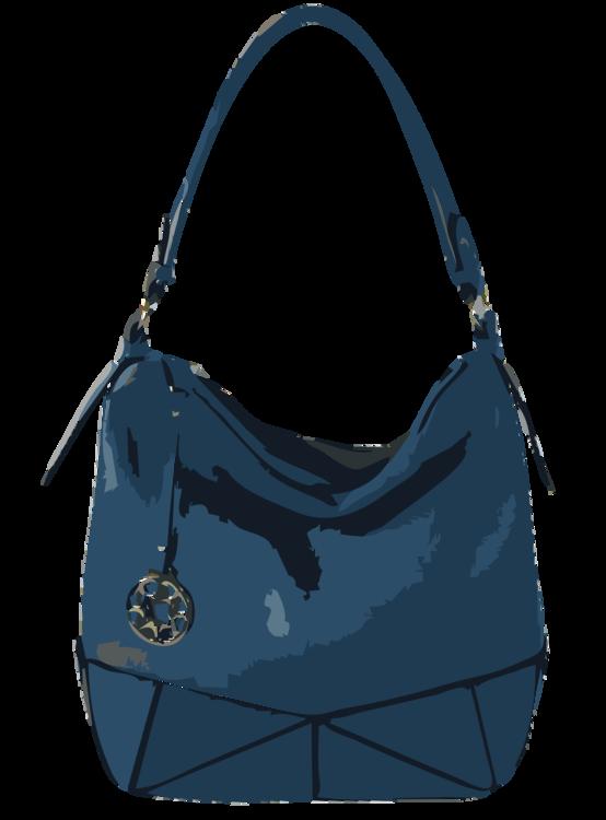 Blue,Hobo Bag,Leather