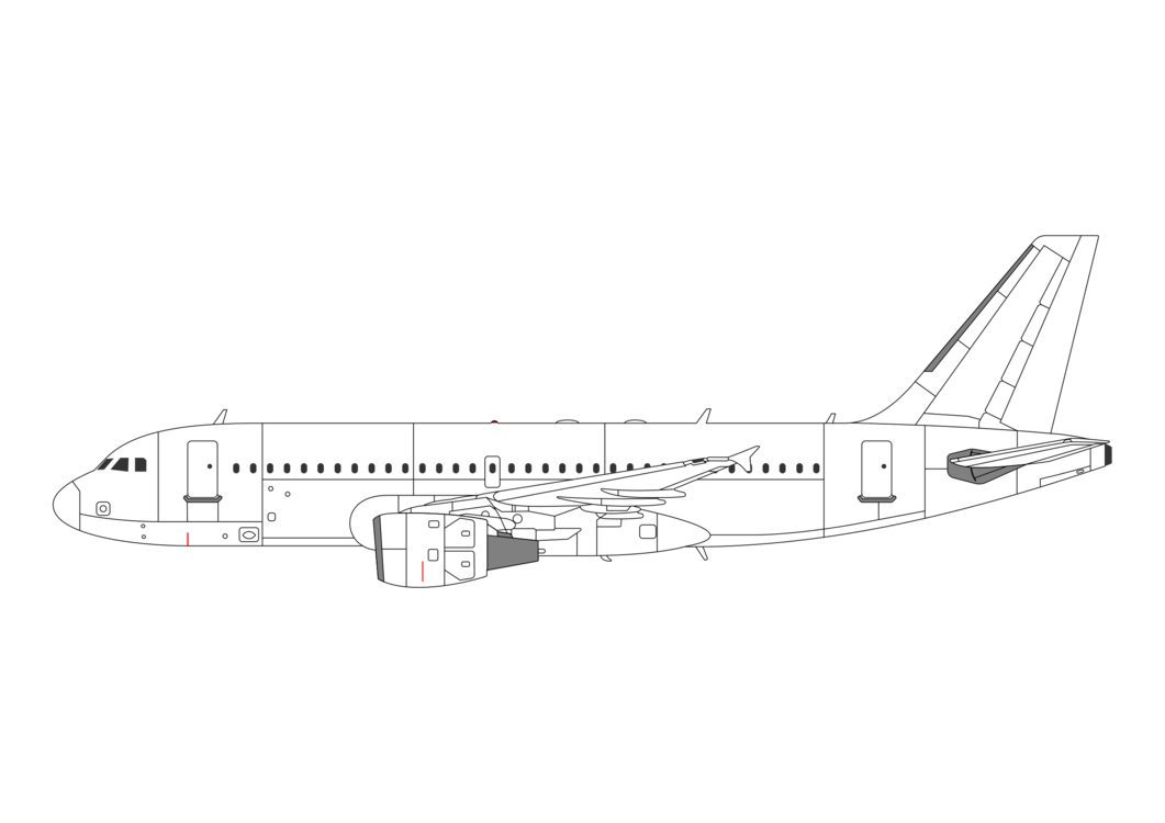 Airbus,Line Art,Line
