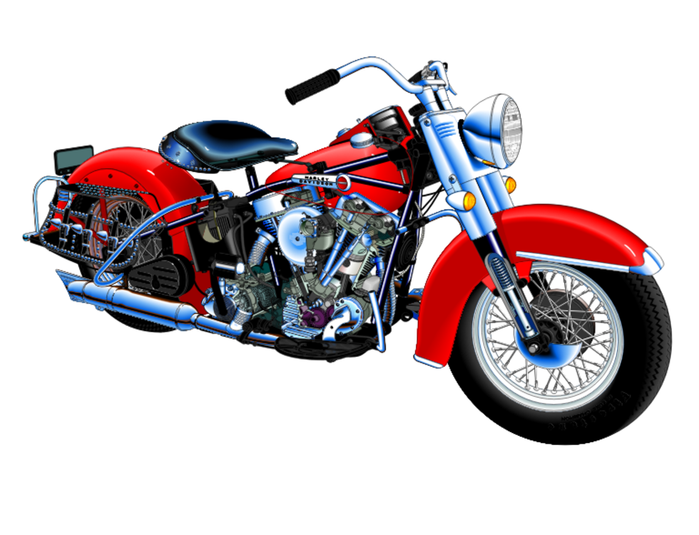harley davidson motorcycle u s route 66 road chopper free rh kisscc0 com harley davidson clip art black and white harley davidson clip art black and white
