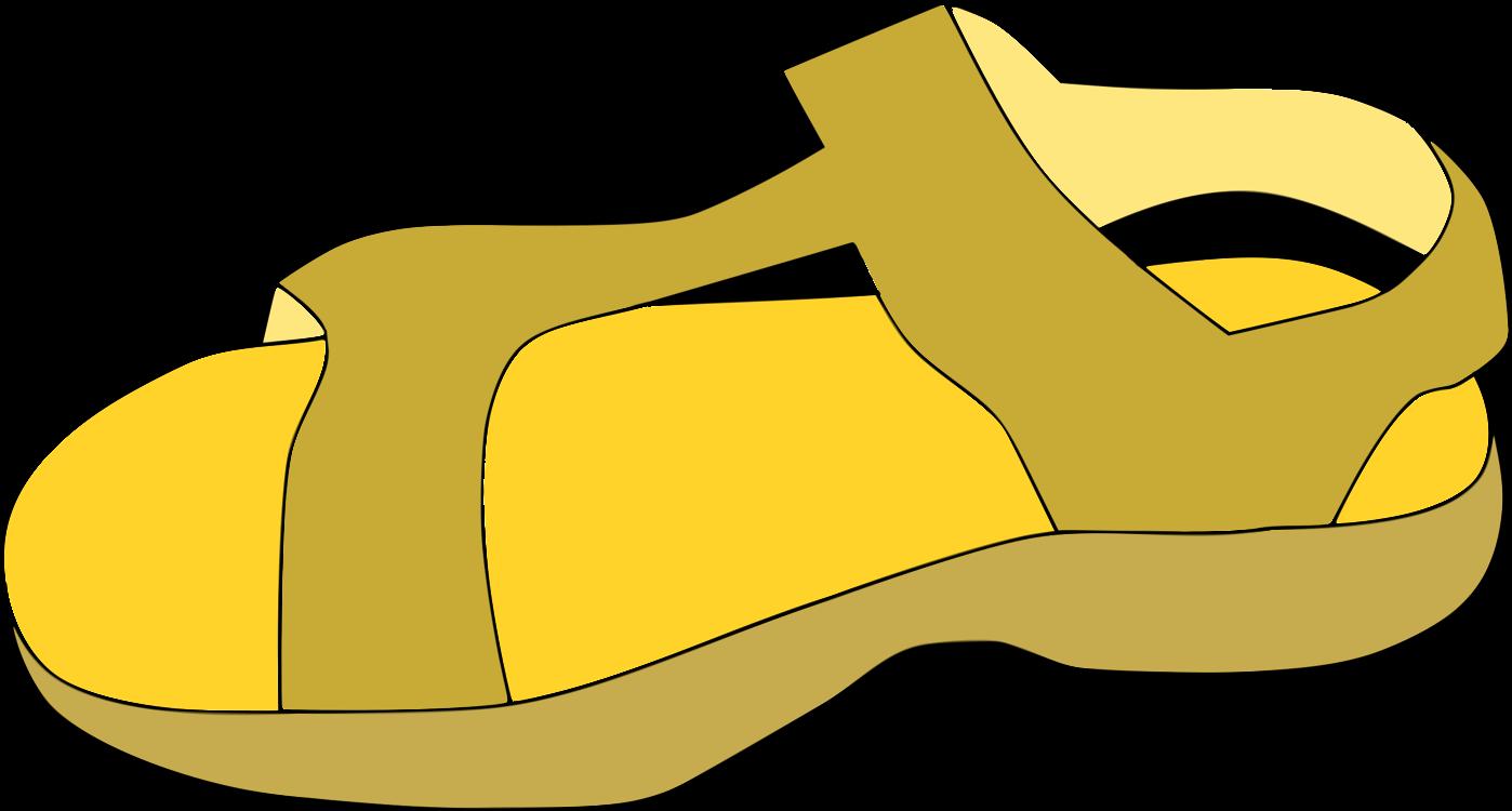 Area,Walking Shoe,Yellow