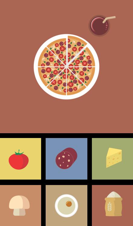 Food,Text,Circle