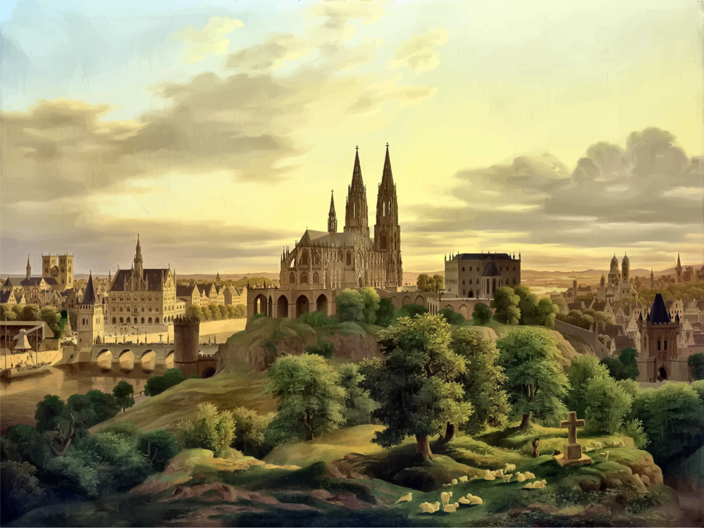 Building,City,Medieval Architecture