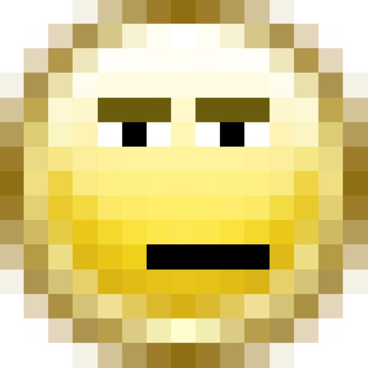 Smiley Emoticon Pixel Art Emoji Computer Icons Free Commercial