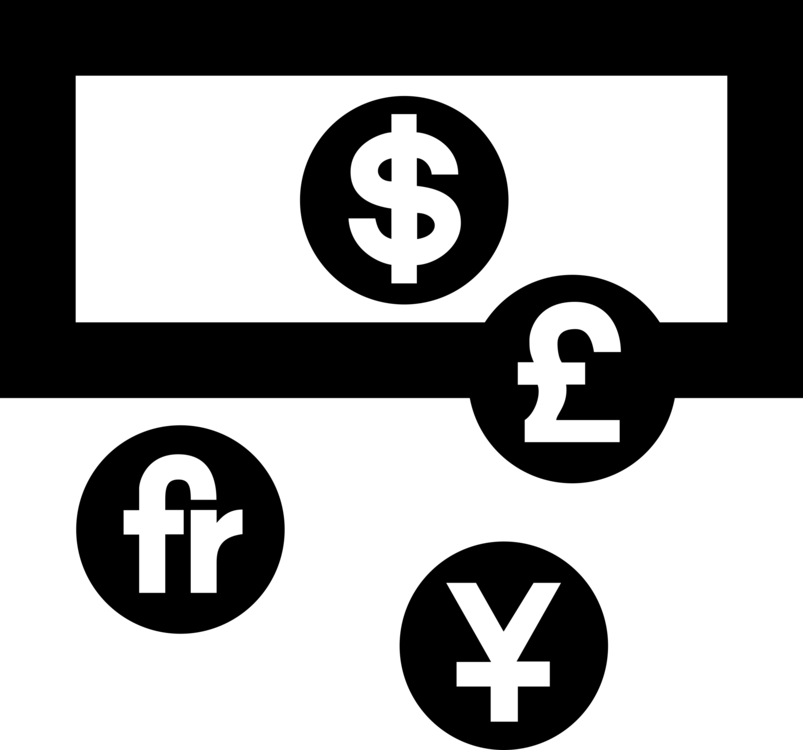 Currency Symbol Bureau De Change Money Changer Exchange Rate Free