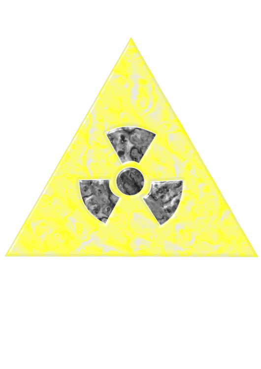 Household Hazardous Waste Symbol Triangle Free Commercial Clipart