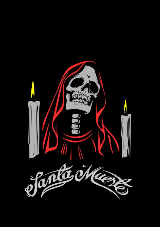 Santa Muerte Tattoo Drawing Death Art