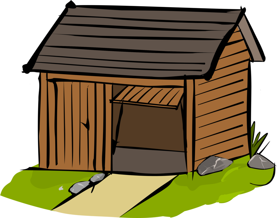 Shed Can Stock Photo Building Hut Computer Icons Free Commercial