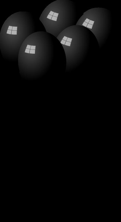 Balloon,Black And White,Birthday