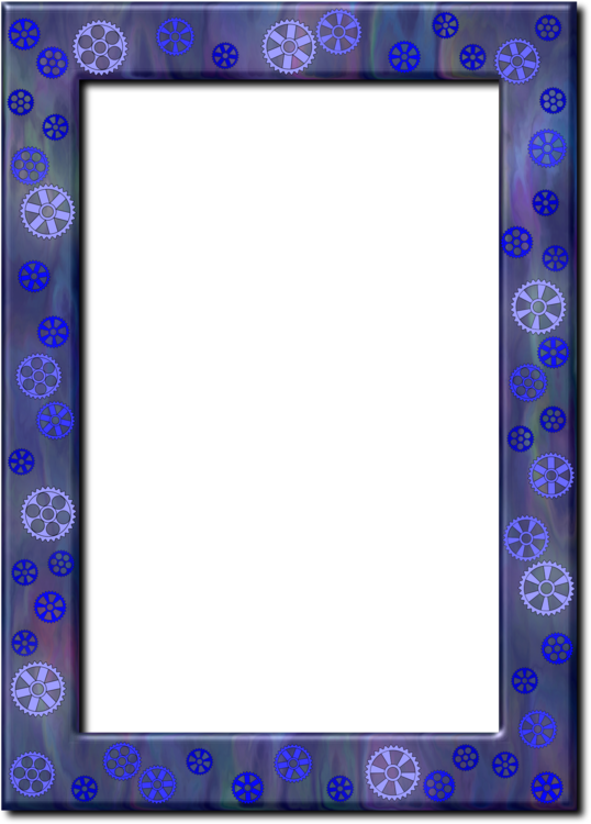 Picture Frames Window Blue Color free commercial clipart - Picture ...