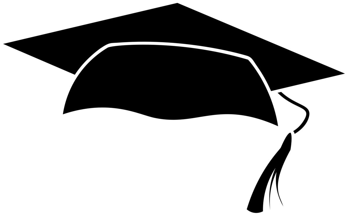 Silhouette,Monochrome Photography,Mortarboard