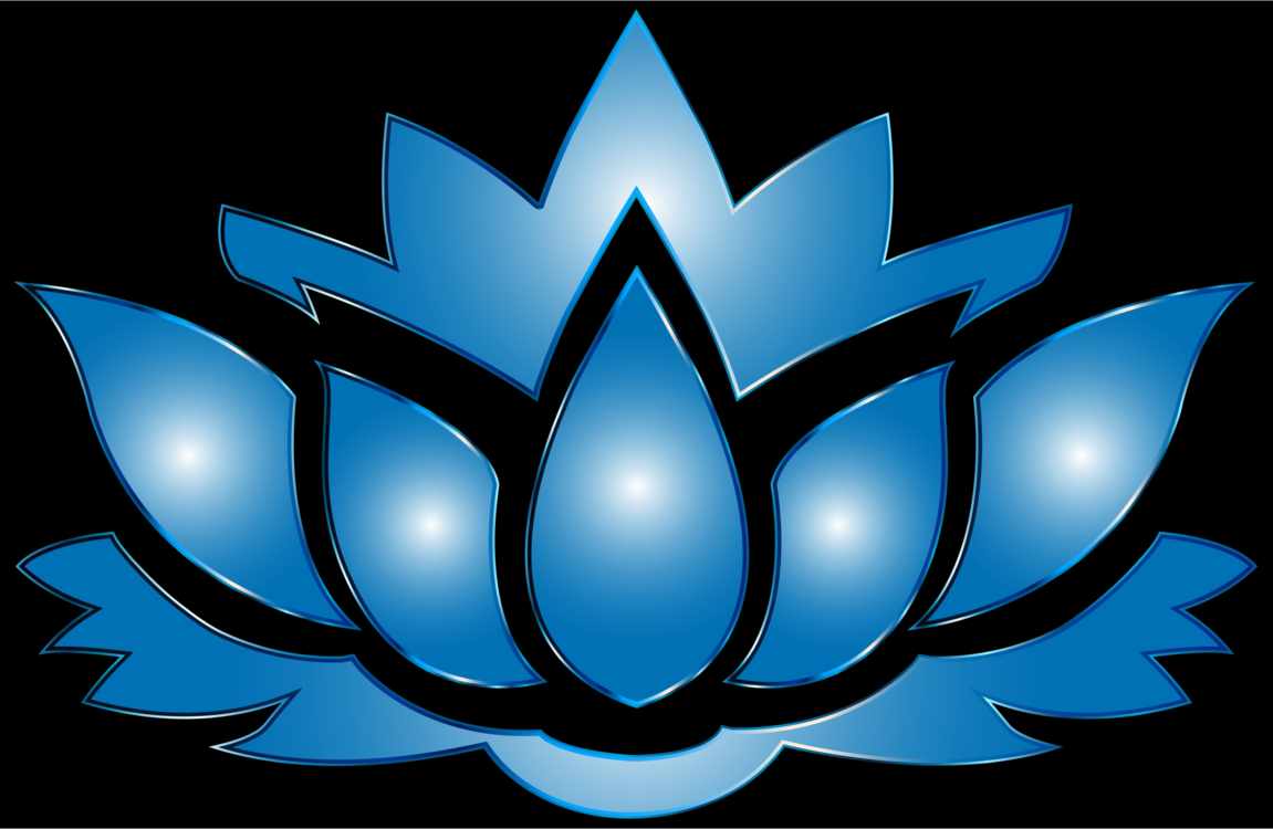 Silhouette Flower Sacred Lotus Poster Drawing Free Commercial