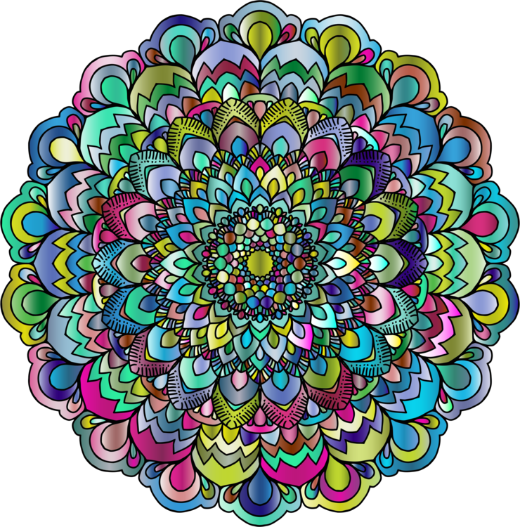 Mandala Floral design Circle Flower Computer Icons free commercial ...