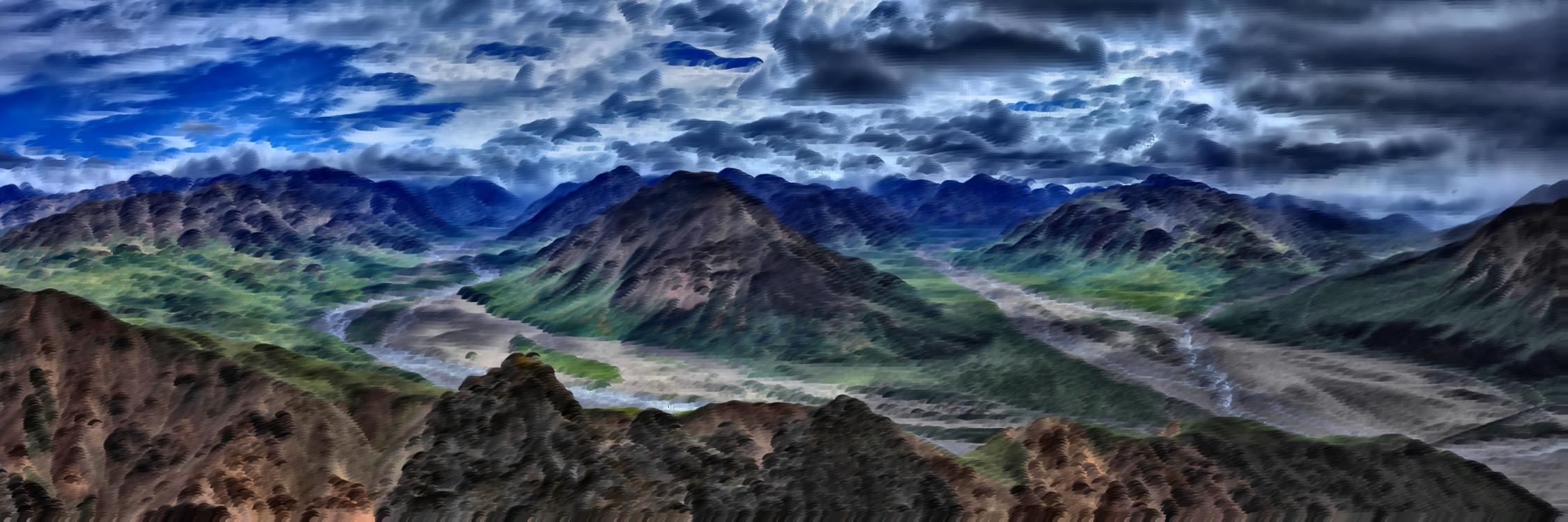 Mountain,Atmosphere,Mountain Range