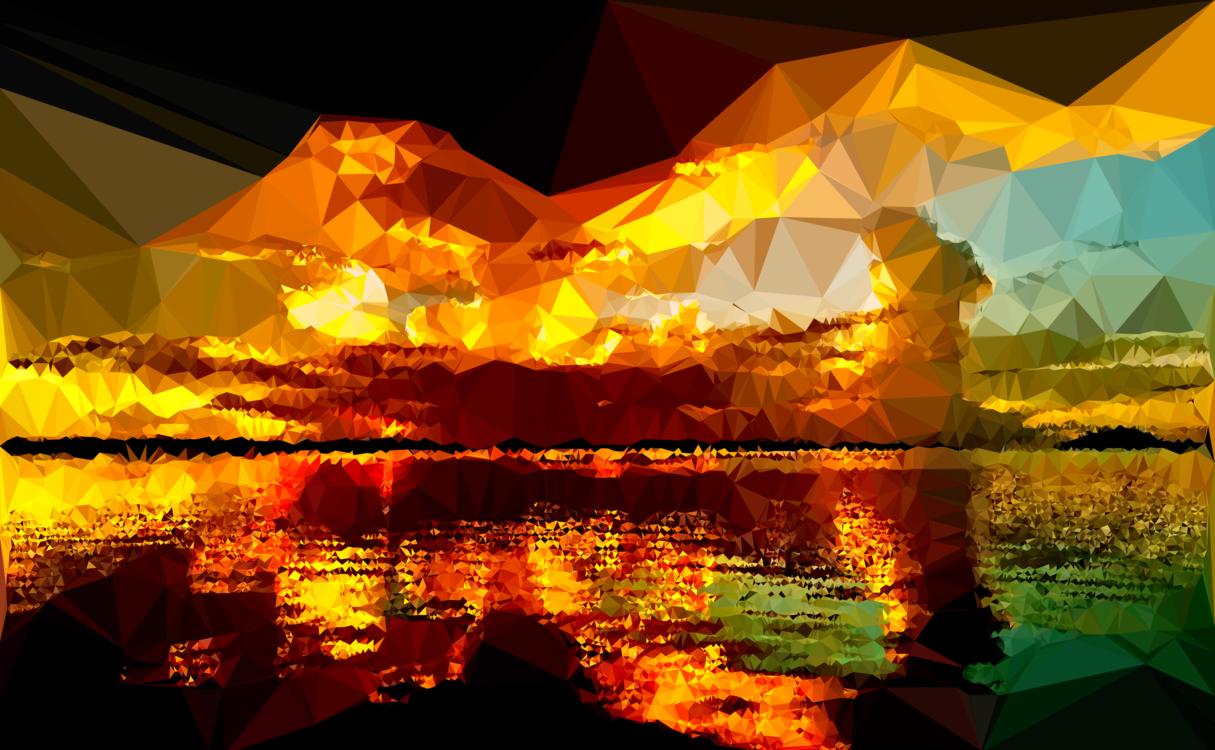 Evening,Reflection,Nature