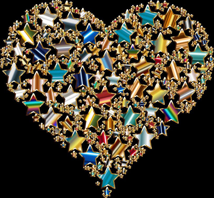 Heart,Star,Desktop Wallpaper