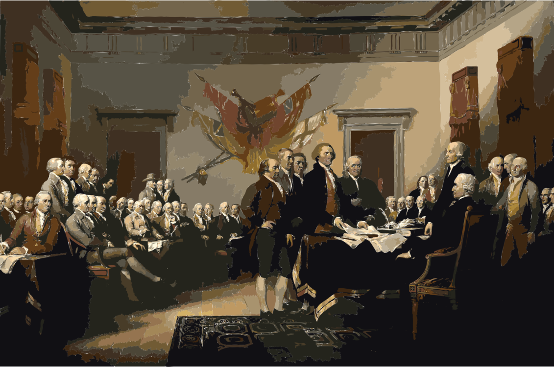 Painting,Art,United States Declaration Of Independence