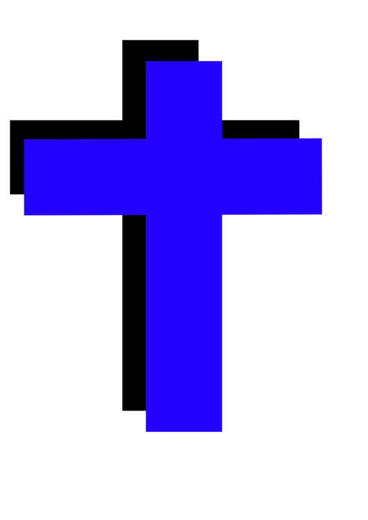Christian Cross Christianity Symbol Banner Free Commercial Clipart