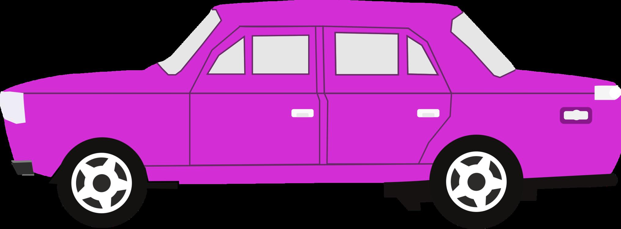 Pink,Van,Compact Car