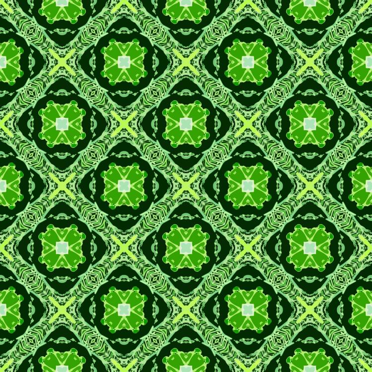Symmetry,Green,Line