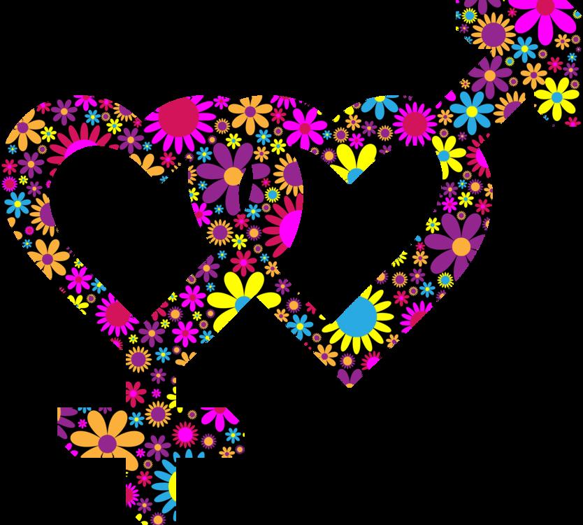 Pink,Heart,Symmetry