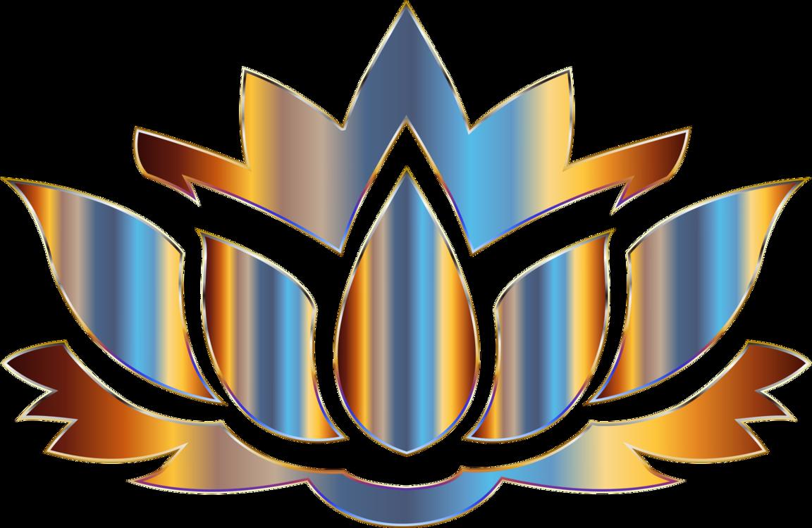 Sacred Lotus Flower Silhouette Egyptian Lotus Free Commercial