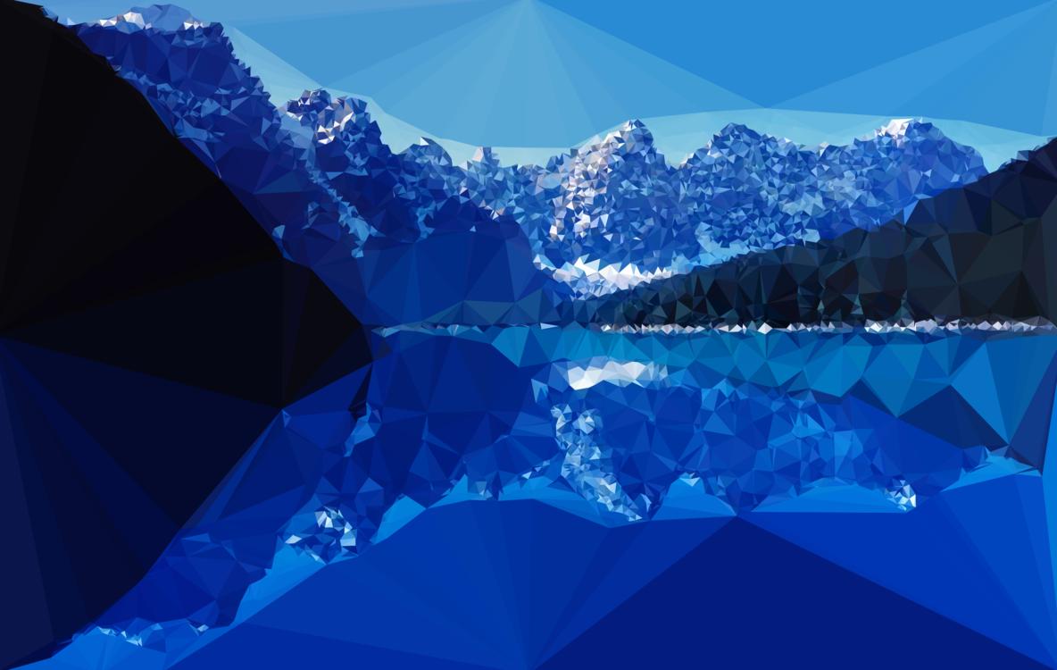 Blue,Mountain,Cirque