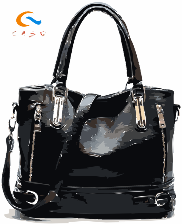 2dfac7d504 Tote bag Leather Handbag Zipper free commercial clipart - Tote Bag ...