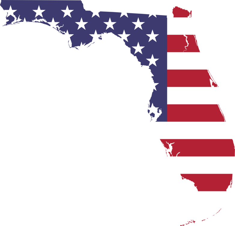 Flag of Florida Map Flag of the United States free commercial ...