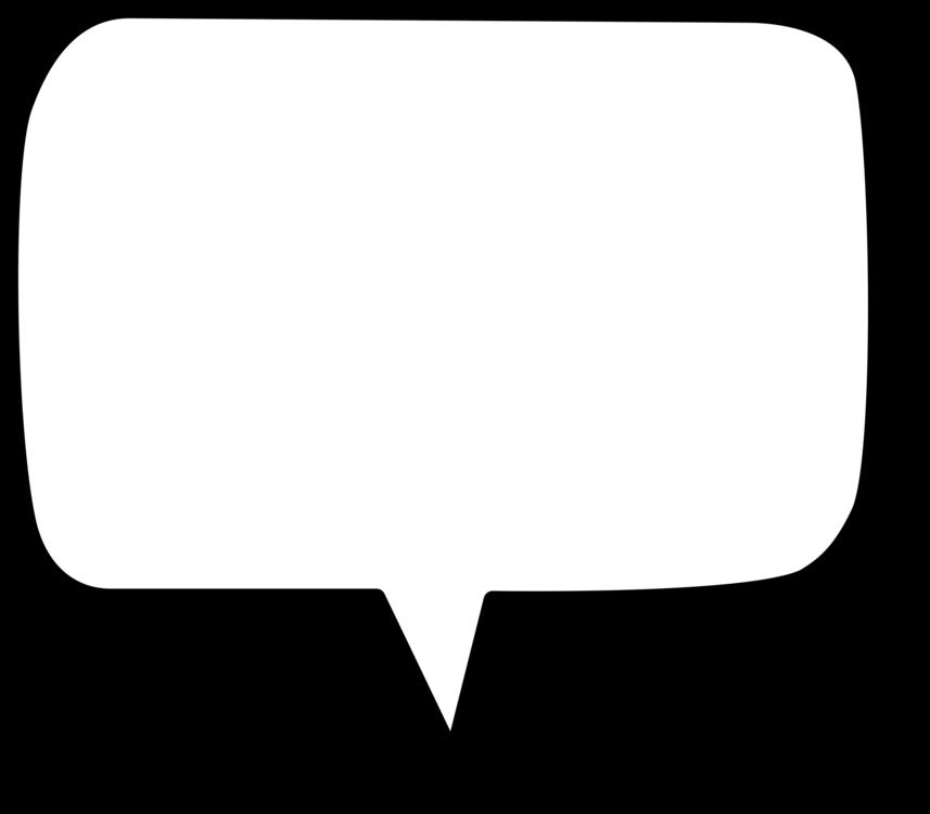 Callout Rectangle Speech Balloon Shape Symbol Free Commercial