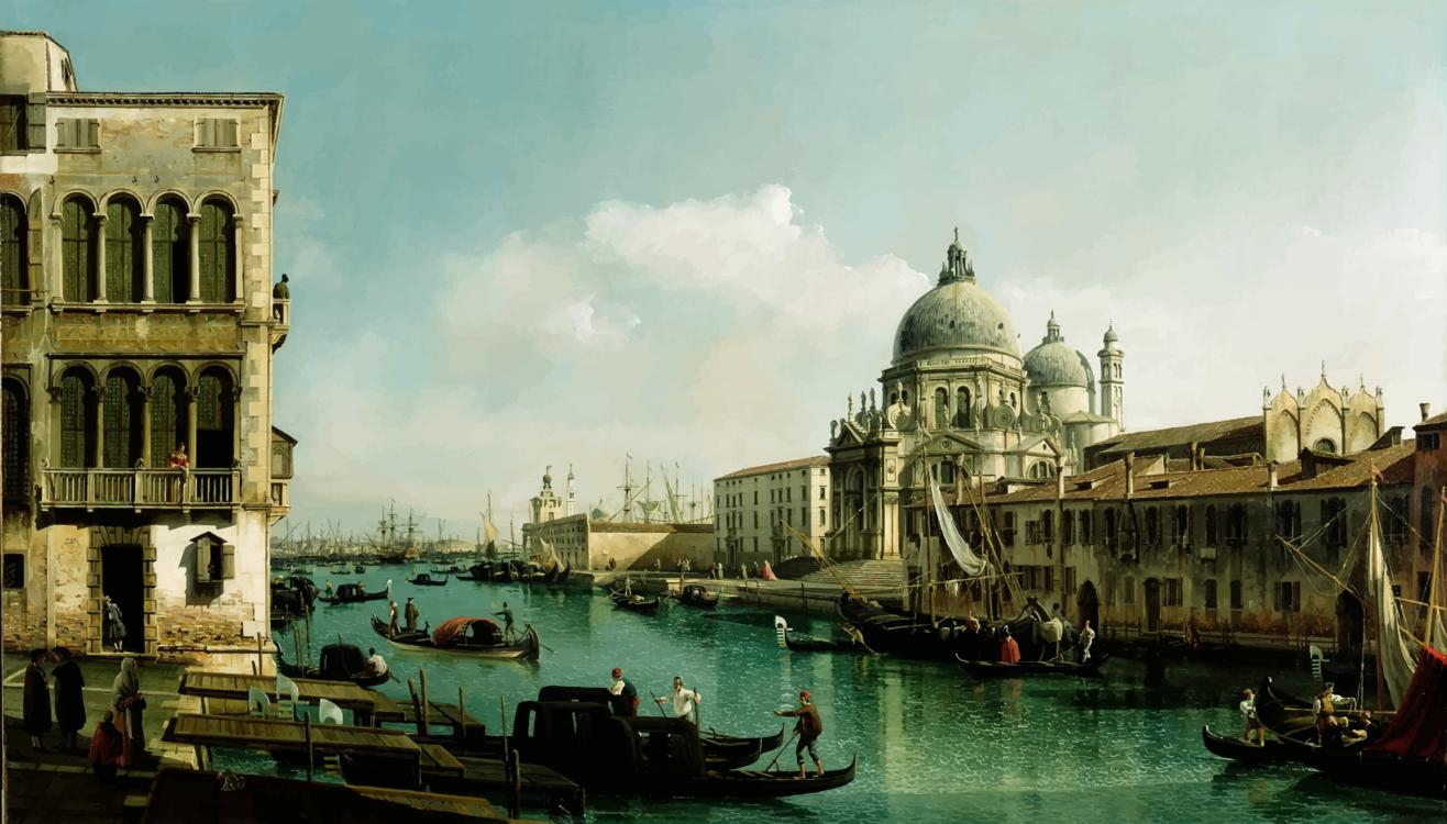 Canal,City,Basilica