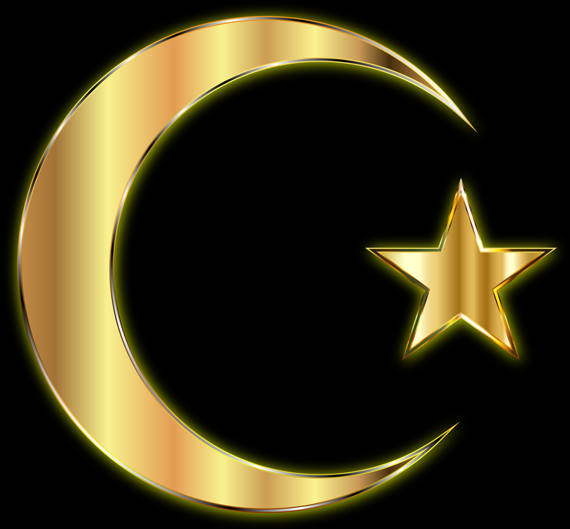 Star And Crescent Golden Crescent Symbol Islam Free Commercial