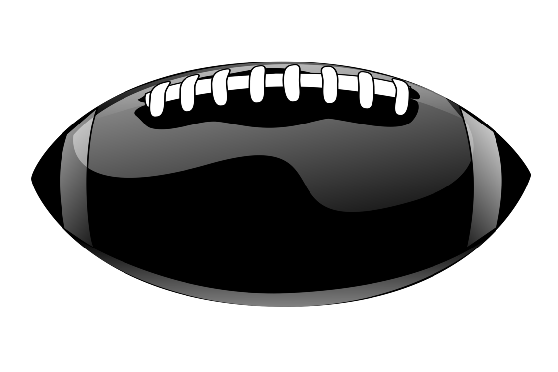 Sports Equipment,Black And White,American Football