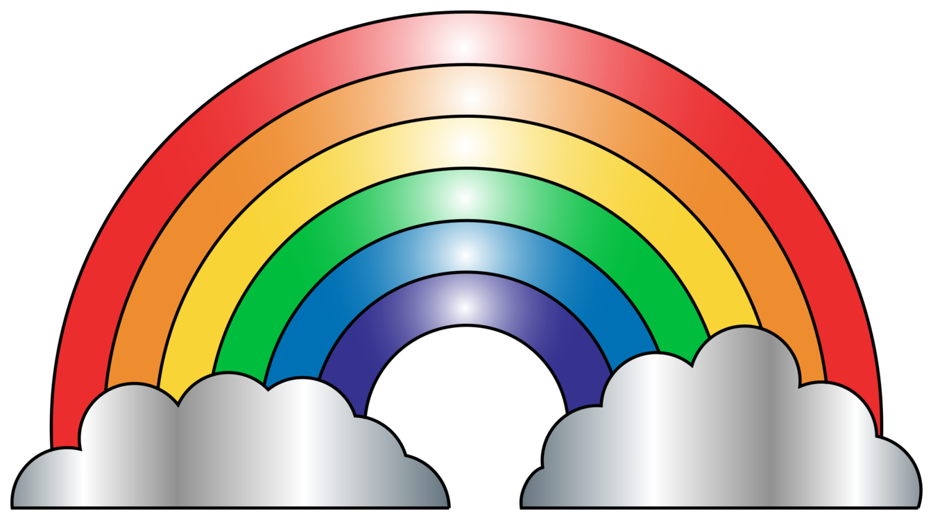 Rainbow Symmetry Sky Png Clipart Royalty Free Svg Png