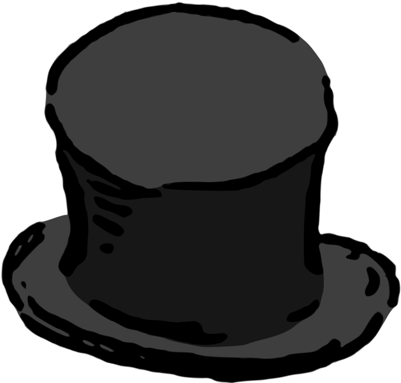 Top hat Cap Clothing Headgear free commercial clipart - Hat 66256b9230f4
