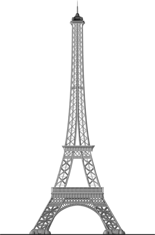 Tower,Structure,Black And White