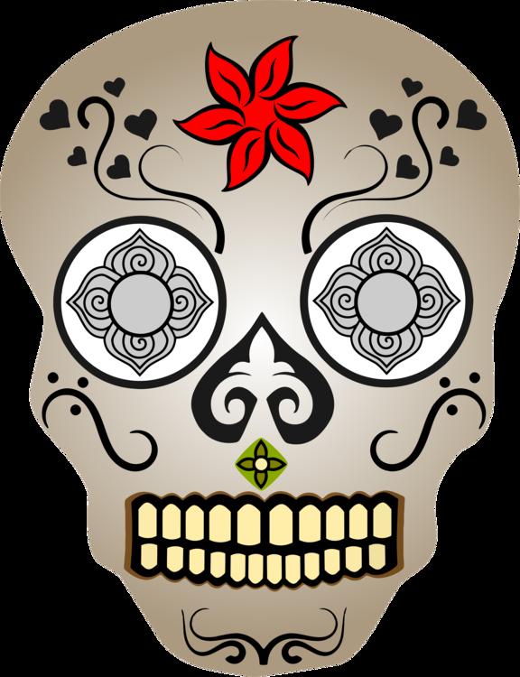 La Calavera Catrina Human skull symbolism Day of the Dead