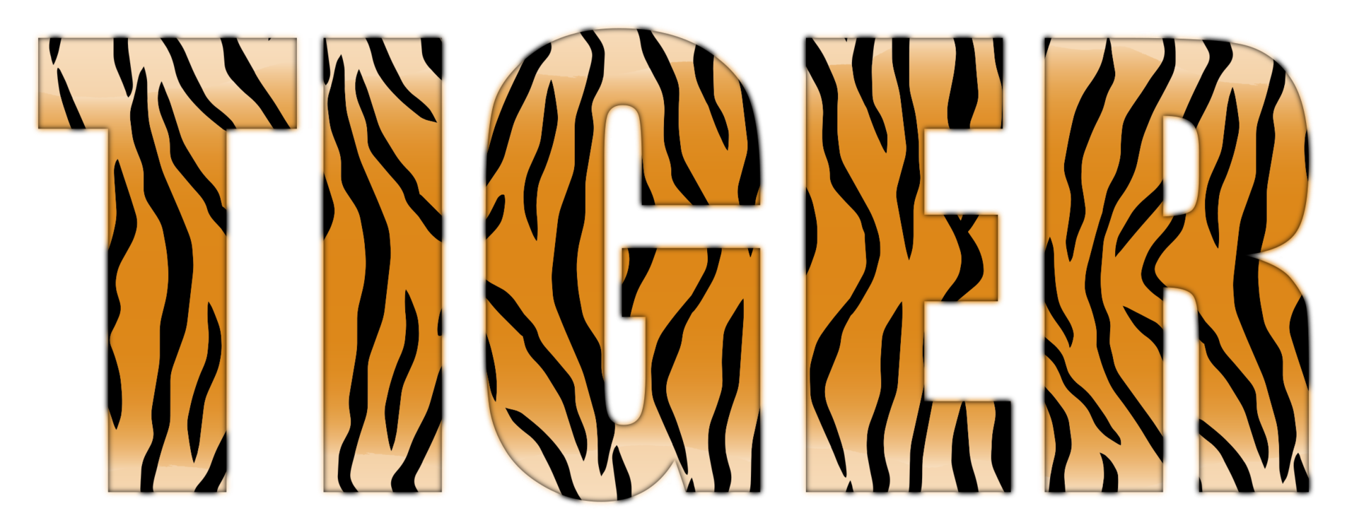 Tiger Computer Icons Microsoft Word Typography Logo CC0 - Graphic