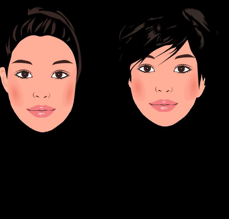 Hair Drawing Portrait Cartoon Woman Cc0 Hairstyle Black Hair