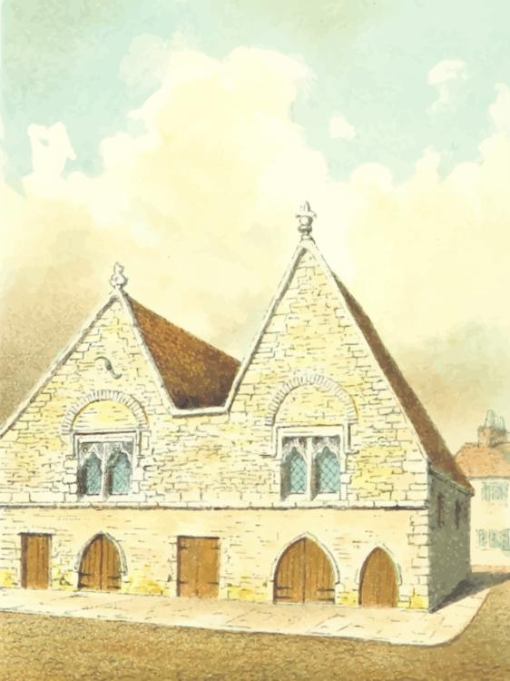Building,Watercolor Paint,Medieval Architecture