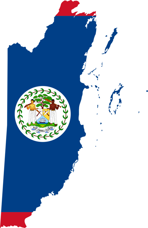 flag of belize national flag world map free commercial clipart