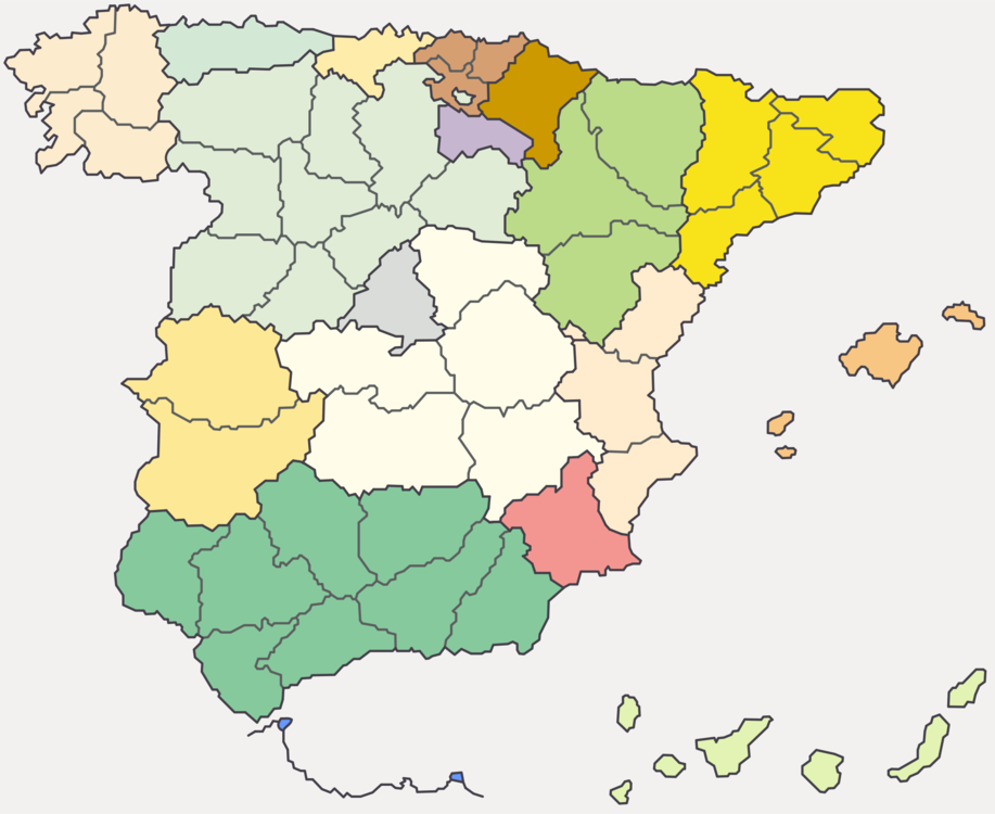 Map Of Spain Google Maps.Map Line Ecoregion Vector Clipart Free To Modify Share And Use