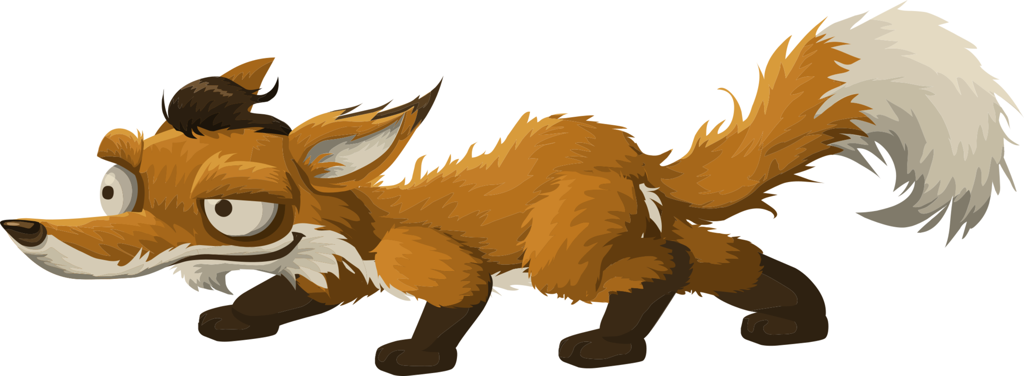 Red Fox Gray Wolf Drawing Video Free Commercial Clipart Red Fox