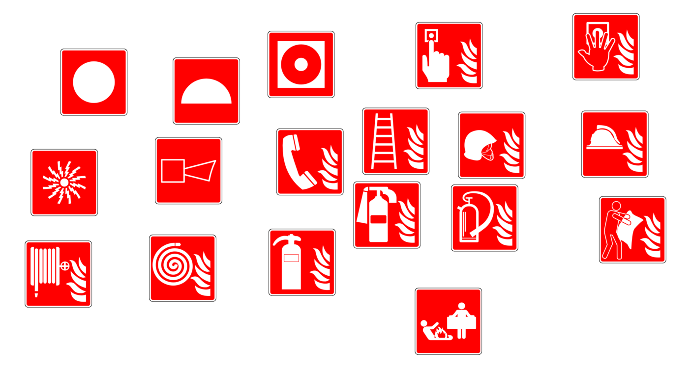 Fire Extinguishers Fire Alarm System Conflagration Sign Free