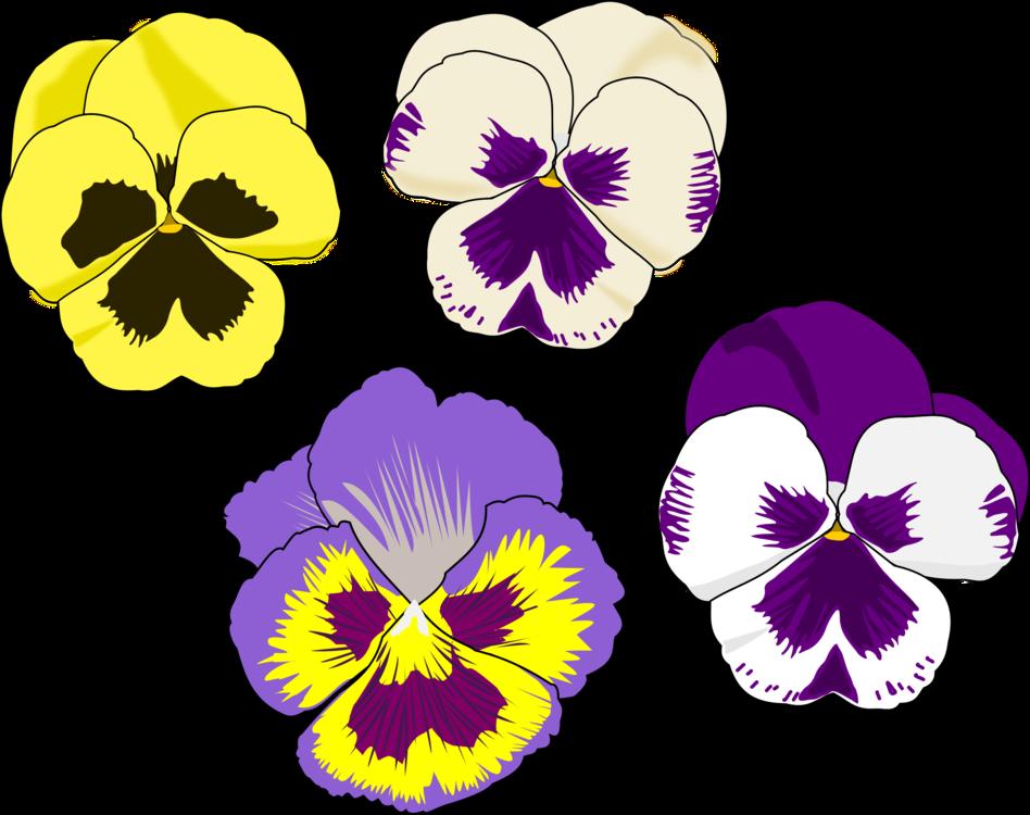 pansy violet computer icons drawing download free commercial clipart rh kisscc0 com Clip Art of Flower Bouquets Flower Clip Art