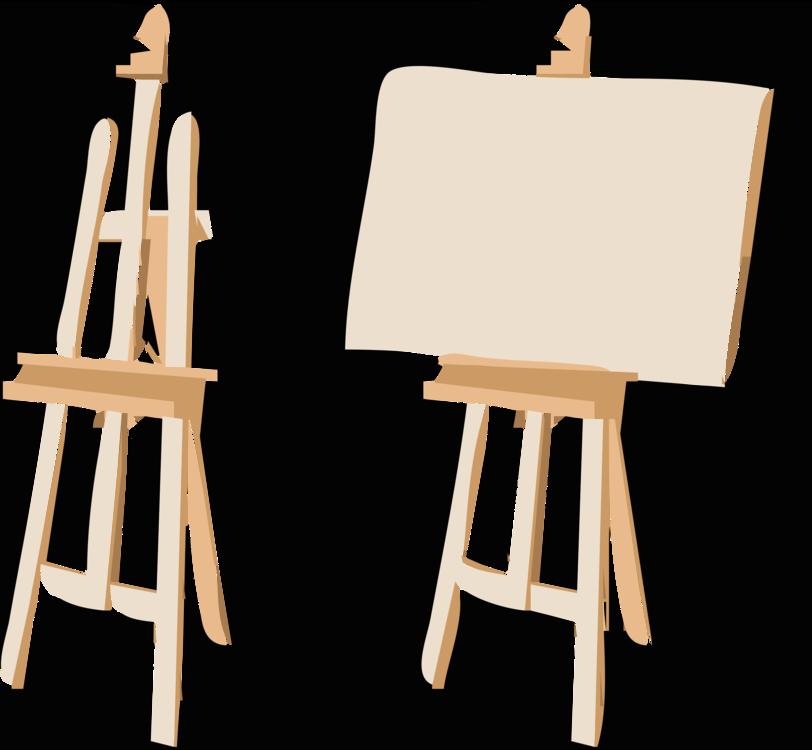 Easel,Wood,Table