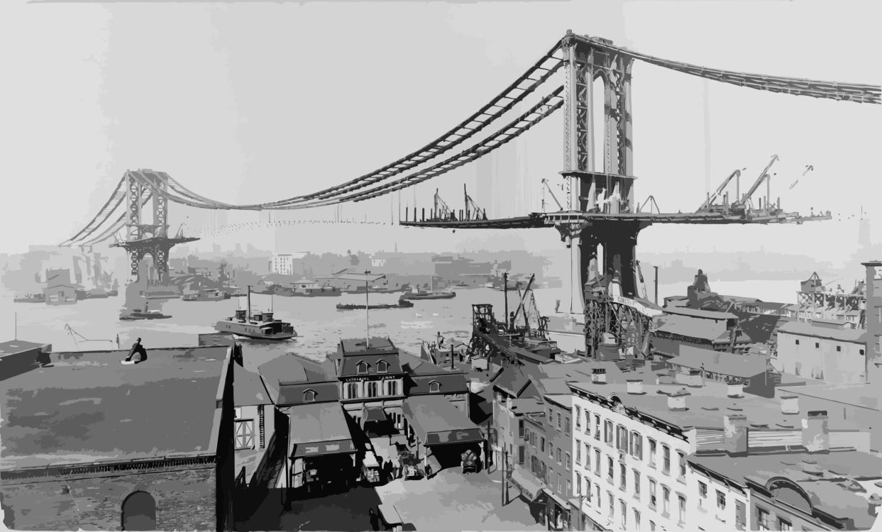 Bridge,Metropolis,Suspension Bridge