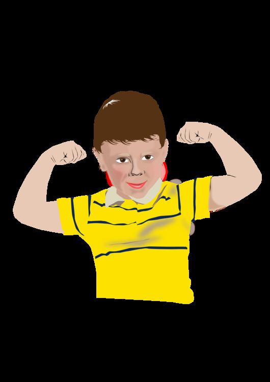 T Shirt,Yellow,Arm