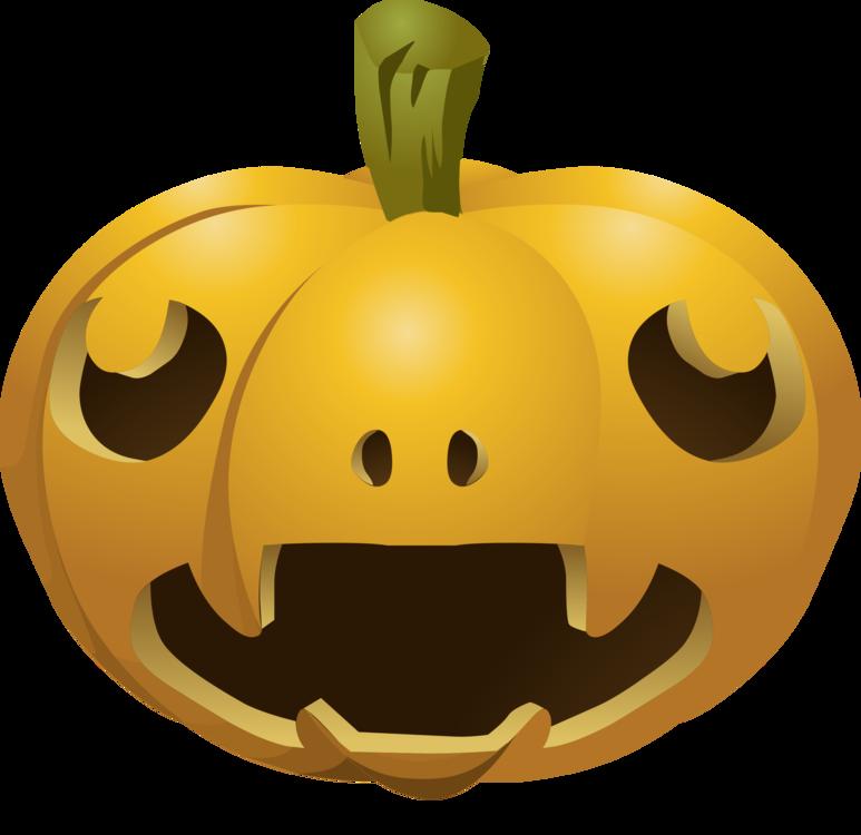 Halloween Party: 4 Watercolor Pumpkins Clipart – Sal Scheibe